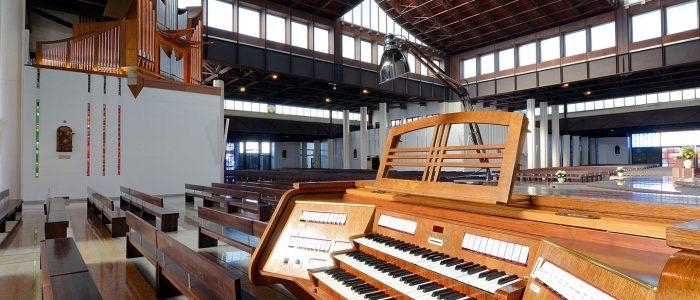 Organo nuovo santuario 1