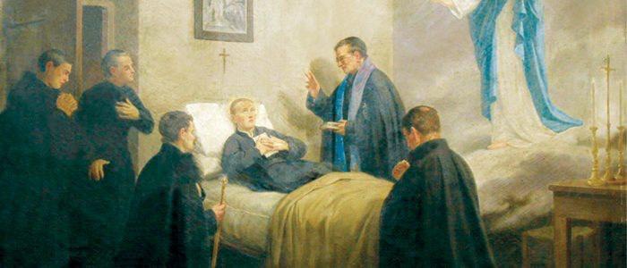 Morte San GAbriele, dipinto cameretta