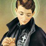 L'immagine tradizionale di San Gabriele