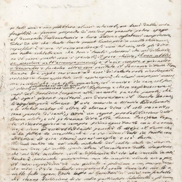 Lettera 6 b